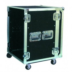 Power Acoustics FC-14 - Flight Case 14U avec roulettes - FC 14