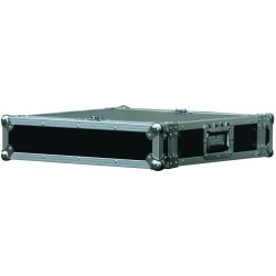 Power Acoustics FC-2-MK2 - Flight Case 2U Série Eco - FC 2 MK2