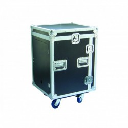 Power Acoustics FCP 12 U - Flight Case 12U + Plan Incliné