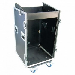 Power Acoustics FCP 16 U - Flight Case 16U + Plan Incliné
