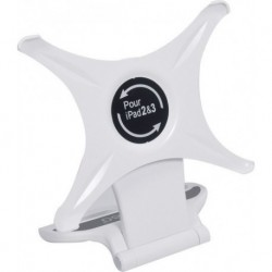 Power Acoustics IS_360_WHITE - Support IPAD 2 et 3 blanc