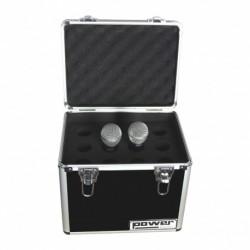 Power Acoustics FL-MIC-12-BL - Valise rangement micro BL