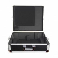 Power Acoustics FL_TURNT_BL - Valise rangement platine vinyle black
