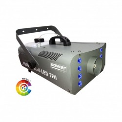 Power Lighting FOGBURST 1200 LED TRI - Machine à fumée 1200W + 8 leds 3W 3-en-1 RGB