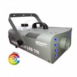 Power Lighting FOG_1500_LED - Machine à fumée 1500W + 8 LEDS 3W 3-en-1 RGB