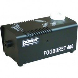 Power Lighting FOGBURST 400 N - Machine à Fumée 400W - Finition Noire