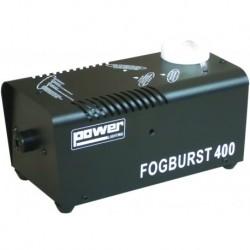 Power Lighting FOGBURST-400N - Machine à Fumée 400W - Finition Noire