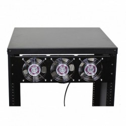 Power Acoustics FR-3 - Kit 3 ventilateurs pour rack