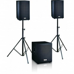 Definitive Audio FUSION-1500 - Ensemble 2xM215A + 1xM118A