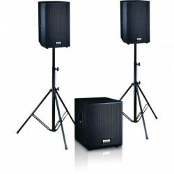 Definitive Audio FUSION 1500 - Ensemble 2xM215A + 1xM118A