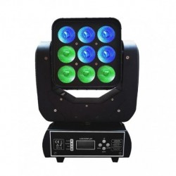 Power Lighting MATRIX_90QUAD - Lyre matrix 9x10W QUAD