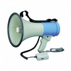 Power Acoustics MEGAPOW-25M-M - Megaphone 25W avec combiné et slot MP3