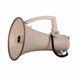 Power Acoustics MEGAPOW-45M-M - Megaphone 45W avec combiné et slot MP3