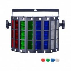 Power Lighting MINI MEGA LED ST - Derby 4x3W RGBW + strobe