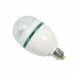 Power Lighting MINI SPHERO LED - Ampoule E27 Demi Sphère 3x1W RGB