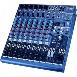 Definitive Audio MX_1404_FX - Mixer 8 Voies avec DSP - Livrée avec équerres 19