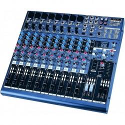 Definitive Audio MX_1604_FX - Mixer 10 Voies avec DSP - Livrée avec équerres 19 - MX 1604 FX