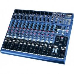 Definitive Audio MX_1804_FX - Mixer 12 Voies avec DSP - Livrée avec équerres 19