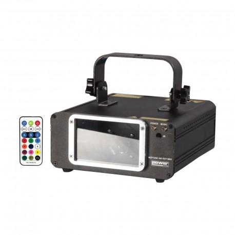 Power Lighting NEP-240RGY-M3 - Laser à faisceaux Rouge, Vert, Jaune 240MW