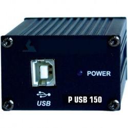 Power Acoustics P_USB_150 - Adaptateur USB - XLR Femelle
