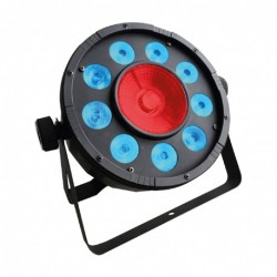 Power Lighting PAR_DUO_27/30 - Par Slim 9x3W + 1x30W COB 3-en-1