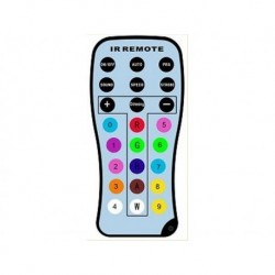 Power Lighting PARSLI_REMOTE - Télécommande pour Par Slim