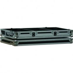 Power Acoustics PCDM 1000 - Flight Case Roulettes CD à Plat + Mix