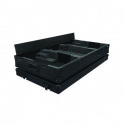 "Power Acoustics PCDM-2900BL-N - Flight case pour 2 CDJ 900 ou CDJ 2000 NEXUS + Mixeur 13"" Couleur noir"