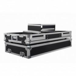 Power Acoustics PCDM 2900 DS NXS - Flight case pour CDJ 900 / 2000 NEXUS + MIX 13 + PLATEAU