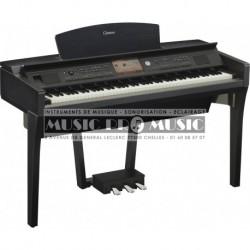 Yamaha CVP709B - Piano numérique arrangeur noir satiné avec meuble