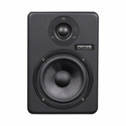 Power Studio PSM_6A - Enceinte de studio 2 voies bi-amplifiée 6''