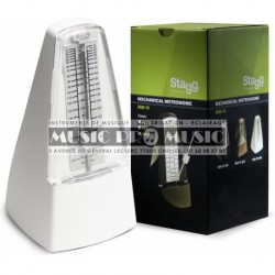 Stagg MM-70-WH - Metronome mecanique blanc