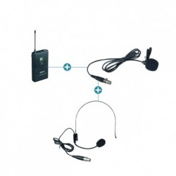 Power Acoustics PT-55-6500UHF - Option Body Pack pour WM 5500-6500 UHF