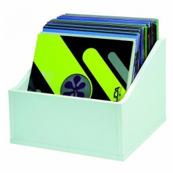Glorious DJ RECORD BOX ADVANCED 110 WHITE - Casiers Rangement 110 Vinyles Finition Blanche