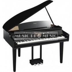 Yamaha CVP709GPPE - Piano numérique arrangeur noir laqué avec meuble
