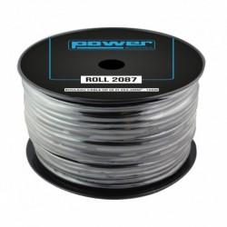 Power Acoustics ROLL 2087 - Rouleau Câble HP HI-FI 2x2.5mm² - 100m