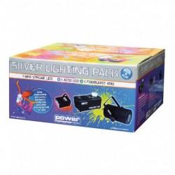 Power Lighting SILVER_PACK - Véritable Pack Plug & Play Pack lumière tout en un