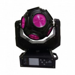 Power Lighting SOLAR_BALL - Boule led 12x20W led CREE 4-en-1