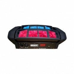 Power Lighting SPIDER POCKET QUAD - Effet à led 8x12W RGBW 4-en-1