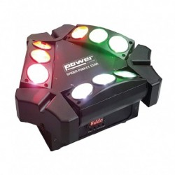 Power Lighting SPIDER-POC-ST - Effet à LED 9x3W RGBW single color