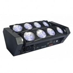 Power Lighting SPIDER LED 64W CW CREE - Barre à Led Blanc 8x8W CW