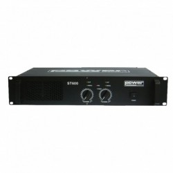 Power Acoustics ST 600 - Amplificateur 2x300W RMS sous 4 Ohms