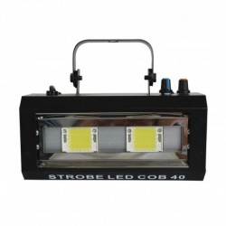 Power Lighting STROBE LED COB 40 - Stroboscope 40W 2 LEDs Blanches