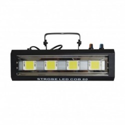 Power Lighting STROBE LED COB 80 - Stroboscope 80W 4 LEDs Blanches