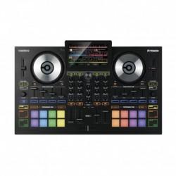 Reloop TOUCH - Contrôleur DJ 4 canaux avec écran tactile 7''. Version complète du logiciel Virtual DJ 8 PRO inclue.