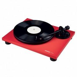 Reloop TURN2_RED - Platine vinyle Hifi rouge avec bras de lecture droit