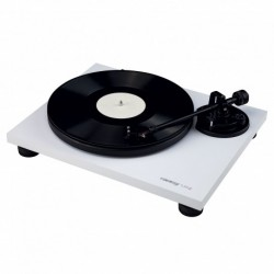 Reloop TURN2_WHITE - Platine vinyle Hifi blanc avec bras de lecture droit