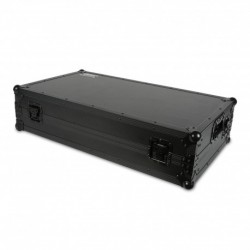 UDG U-91010-BL - UDG Ultimate Flight Case Pioneer DDJ-RZ/SZ Black Plus (Laptop shelf + Wheels)