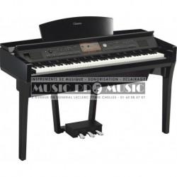 Yamaha CVP-709PE - Piano numérique arrangeur noir laqué avec meuble