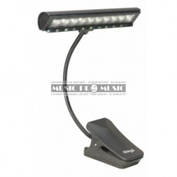 Stagg MUS-LED-10-2 - Lampe LED multifonction à pince à poser ou à fixer